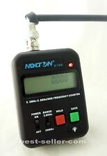 X100,Portable Handheld Frequency Counter (0.3MHz-2.8GHz) w LCD for two way radio