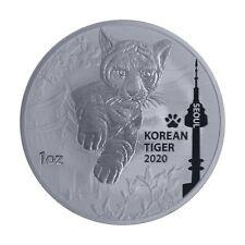 COREE DU SUD 1 Clay Argent 1 Once Tigre Coréen Séoul 2020