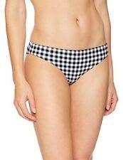 Seafolly Women's Hipster Bikini Bottom Swimsuit La Belle Black White Check 4 US