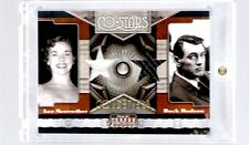 2011 Panini Americana Actor Rock Hudson and Catwoman Lee Meriwether Gold #47/49