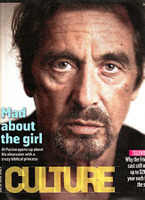THE SUNDAY TIMES CULTURE Magazine 7/09/2014 AL PACINO About The Girl SLSH @New@