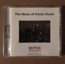 The Music of Duran Duran 1987-2010 BMG CD-r Promo VG Condition Mega Rare