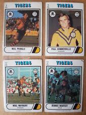 Balmain Tigers 1976 Season NRL & Rugby League Trading Cards