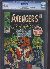 AVENGERS #54 CGC NM 9.4; OW-W; 1st app. Ultron-5 (Avengers: Age of Ultron)!