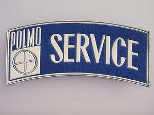 Vintage pre-1980s POLMO SERVICE - Polski FIAT automobile patch MINT, unused!