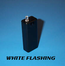 FAKE CAR ALARM LED LIGHT- WHITE BLINKING AAA BATTERY