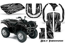 YAMAHA GRIZZLY 660 CREATORX GRAPHICS KIT DECALS STICKERS BOLT THROWER SILVER