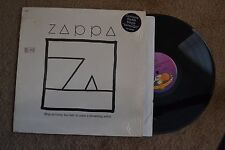 Frank Zappa Ship Arriving Too Late To Save A Drowning Witch shrink Record lp NM