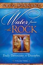 Water from the Rock: Daily Devotions for Disciples, Volume Three (Paperback or S