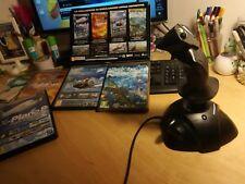 simulatore di volo collezione 4 titoli FX italiano + PC Joystick USB  CLOCHE