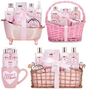 Beauty-Pflege-Set Danke Mama Muttertags Geschenk Geburtstag Mutter Rosen Vanille