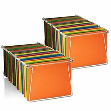 Officemate Hanging File Frames Letter Size Rails Fits 24 To 27 Files
