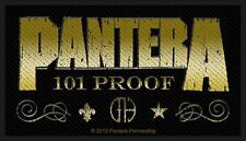 OFFICIAL LICENSED - PANTERA - WHISKEY LABEL SEW ON PATCH THRASH METAL DIMEBAG