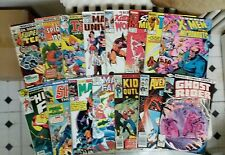 MIGHTY MARVEL MIX LOT COMICS!(MARVEL,70s,80s) Dr.Strange,Ghost Rider,Human Fly