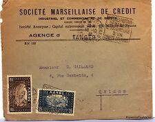 Lettre TIMBRE  MAROC TANGER PETIT SOKKO 1938   AV92