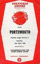 Apr 60 Shefield United v Portsmouth