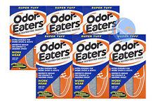 6 x mangia-odori SUPER TUFO deodorizzazione dei plantari. Lavabile Buon valore!!!