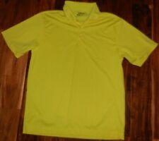 Nike Golf Tour Performance Men's UV Stretch SS Yellow Polo 358324-711 sz L..NWOT