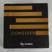 "ABC STUDIOS ""Consider"" 2016 EMMYS Promo FYC 11-DVD Box Set DVDs OPEN BOX"