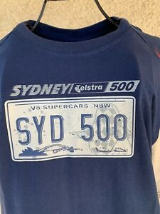 BNWT 2010 V8 Supercars Sydney Telstra 500 Official Merchandise Track T Shirt