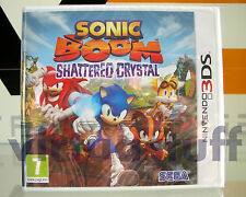 Sonic Boom, Frammenti di Cristallo, Shattered Crystal, 3DS, 2DS, EU, IN ITALIANO