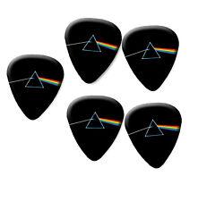 Pink Floyd 5 printed plectrum guitar pick picks Dark Side Of The Moon #1