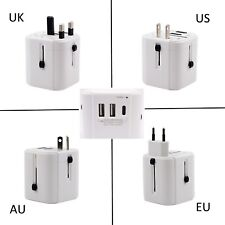 New UK Plug Fast Charge Travel Adapter Wall Socket w/USB Port For iPhone 6S Plus