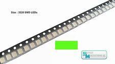 Pack of 100 Green 1210 PLCC-2 3528 SMD SMT LED Light Chip