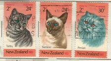 New Zealand Scott B115 - B117a in Mixed Condition