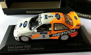 FORD ESCORT RALLY ACROPOLIS 1997 WINNER C.SAINZ/L.MOYA MINICHAMPS 430978705 1/43