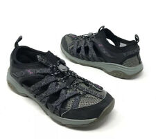 Chaco Womens Outcross Evo 1 Sport Water Hiking Shoes Black Gray Size 7.5