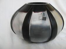 edle Vase Gunther Lambert Glas mundgeblasen mattiert und dunkelrotes Glas Unikat