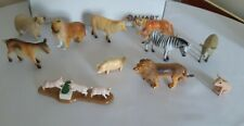 small Toy Farm Animal & Zoo Figures mostly old/vintage