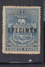 Liberia # 45 1896 SPECIMEN Rogers Type II Coat of Arms