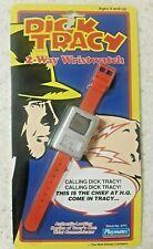 Vintage Dick Tracy 2-Way Watch Wristwatch Playmates 1990 Walt Disney Nip