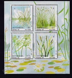 BOTSWANA MNH STAMP SHEET 1987 CHRISTMAS GRASSES & SEDGES OF OKAVANGO SG MS643