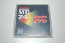 Maxell MD 74DA(P) Audio PRO neu, sealed professional MD