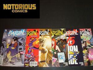 Batgirl 35 36 37 38 39 40 Complete Burnside Comic Lot Run Set DC EXCELSIOR BIN