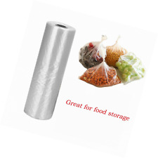 """12"""" X 20"""" Plastic Produce Bag on a Roll,Food Storage Clear Bags For Fruits, Vege"""