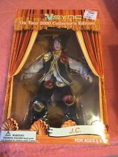 Nsync On Tour 2000 Collector's In Box JC Chasez Marionette Puppet Doll