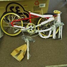 SE Racing BMX Bike 20 in PK Ripper Quadangle Looptail 2009 Red & Gold