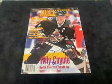 Beckett Magazine Autographed by Keith Tkachuk Certificate by All Sports