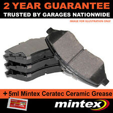 FOR VAUXHALL ASTRA COMBO CORSA MERIVA ZAFIRA (98-12) REAR MINTEX BRAKE PADS SET