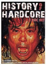 HISTORY OF HARDCORE 9-DISC SET DVD Onita IWA CZW Necro Butcher Cactus Jack Funk