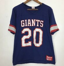 Vtg New York Giants Jersey 1980s Rawlings Football T-Shirt NFL Number 20