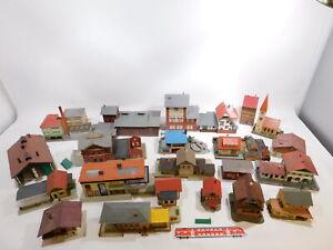 CT217-12# Konvolut Spur H0 Häuser/Fachwerkhaus/Bahnhof+Kirche etc Faller etc