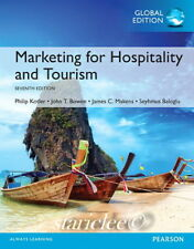NEW 3 Days US Marketing for Hospitality and Tourism 7E Philip Kotler 7th Edition