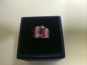 Swarovski -New- 'Nirvana Petite' Amethyst Ring (1103235)  ~Size 8 -Retail $155