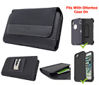 For Motorola Moto G stylus 5G,Rugged Pouch Clip Holster Fits Otterbox Case on
