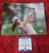 Paula Creamer Beckett Authentic Hand Signed 8x10 Photo LPGA